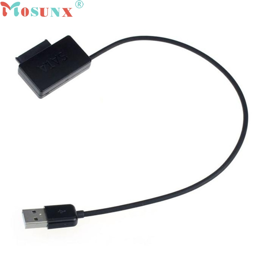 Ecosin2 Mosunx Cable Laptop USB 2.0 to 7+6 13Pin Slimline SATA DVD CD Rom Optical Drive Cable 17mar22 semyon bychkov giuseppe verdi otello blu ray