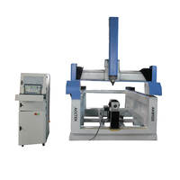 1300*2500mm 4 axis cnc router machine for sale / cnc router 4 axis 1325 cnc milling machine for sale