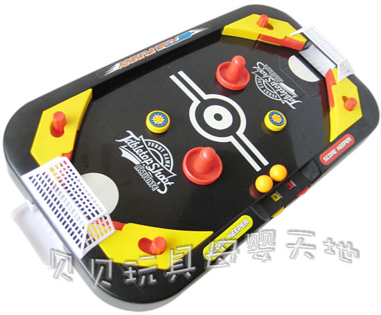 Plastic Educational wisdom toy 1pc mini desktop ice hockey football sport foosball game Early Development children