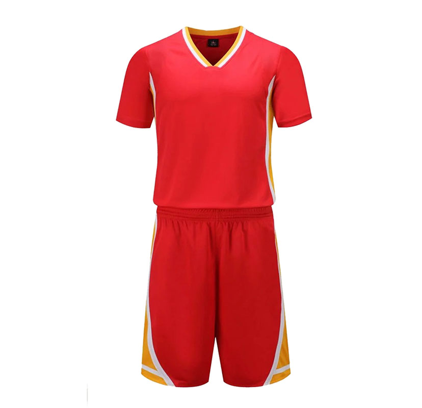 Youth Basketball Sets Boys Professional Short Sleeve Jerseys Shorts Women Sports Running Kits Customize Any Logos