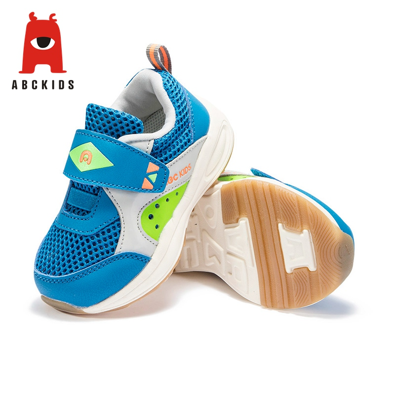 ABC KIDS Spring Summer Baby Boy Breathable Anti Slip Sneakers Soft Soled Casual Walking Shoes Sneakers     - title=