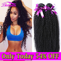 7A Mongolian Kinky Curly Virgin Hair Bundle Deals 100% Unprocessed Human Hair Kinky Curly Virgin Hair Mongolian Kinky Curly Hair