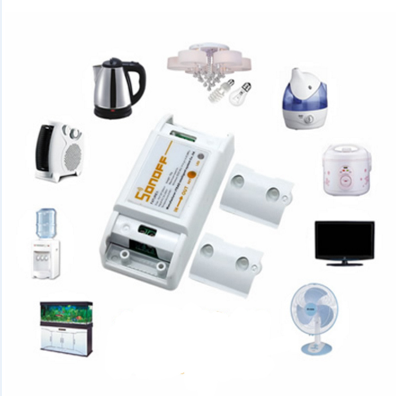 Купить с кэшбэком Sonoff APP Switch Intelligent Universal Wireless DIY Switch MQTT COAP Android IOS Remote Control Wifi Switch For Smart Home 5pc