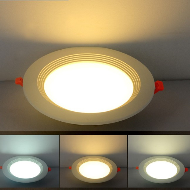 Ceiling Lights Punctual New Special Thin Led Panel Lamp Warm White Cool White Ac 85-265v Home Decoration Light Recessed Ceiling Spot Lamp 4w 9w 12w 24w Ceiling Lights & Fans