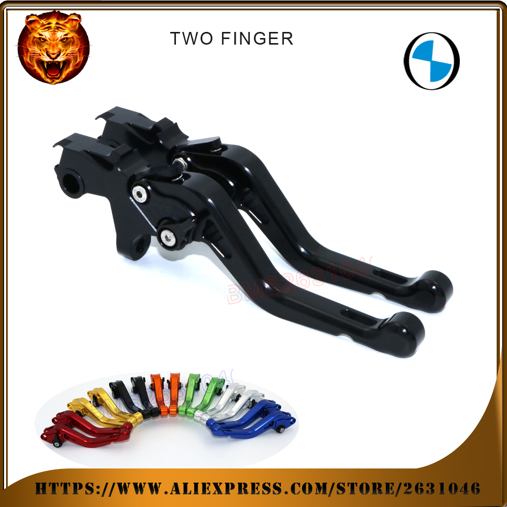For BMW k1200GT K1200LT R1200RT R1150GS ADVENTURE R1150R RED BLUE BLACK Motorcycle Adjustable Short Brake Clutch Levers image
