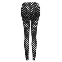Одежда для беременных Для женщин Леггинсы для беременных бесшовные точка брюки стрейч Беременность брюки леггинсы штаны L329