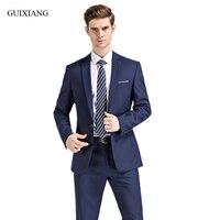 New Arrival Style Men High end Boutique Bridegroom wedding Suits Dress Men's Leisure Solid Slim Formal Suits Blazer Coat S 5XL