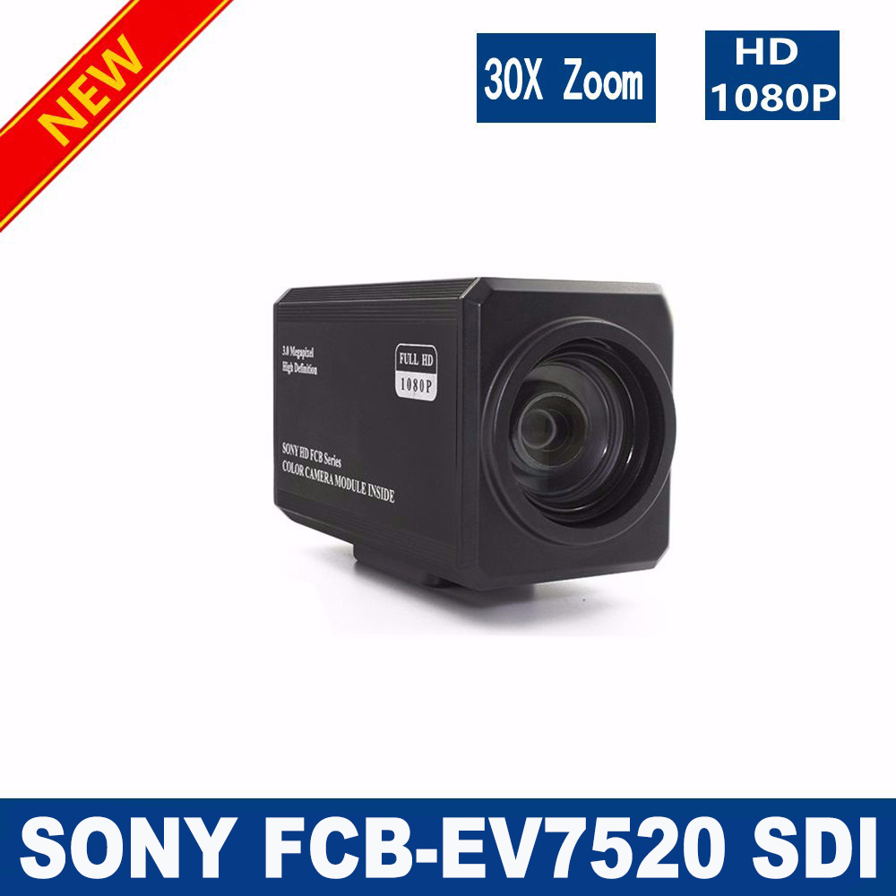Free shipping SDI-SONY FCB-EV7520 2 Megapixel 30x HD Color Block Zoom Camera SONY SDI Camera high zoom camera module SDI camera yunsye free shipping sony fcb ex1010p 36x zoom sony camera module 36x zoom camera high resolution mini camera small ptz