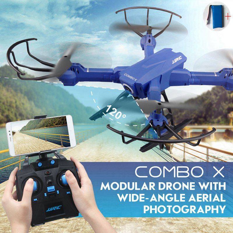 Jjrc H38wh Modular Drone With Camera Aerial Photography Selfie Drones Wifi Fpv Quadcopter Rc Helicopter Remote Control Toy Dron jjr c jjrc h39wh wifi fpv with 720p camera high hold foldable arm app rc drones fpv quadcopter helicopter toy rtf vs h37 h31
