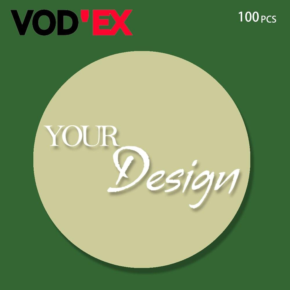 imágenes para Vodex 100 unidades Roun Personalizada Expansión Soporte Del Teléfono y Agarrar Su Propio Soporte para teléfono POP Pastillas para iPhone 7 Redmi Nota 3 Pro