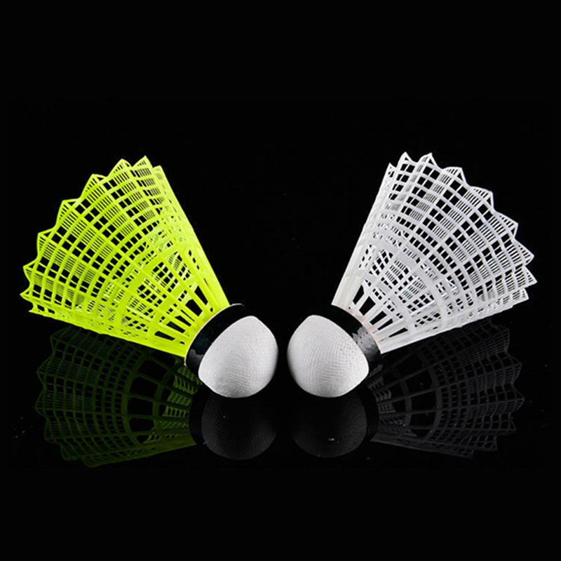 6pcs Colorful Badminton Balls Portable Shuttlecocks Products Sport Training Outdoor Supplies