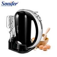 300 W acier inoxydable 5 vitesses mélangeurs de nourriture mélangeur de pâte batteur à oeufs 220 v mélangeur de nourriture pour cuisine Sonifer
