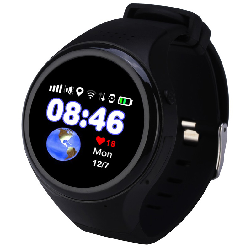 цена на Kids Touch Screen GPS Smart Watch WIFI Positioning Children Old man phone SOS Baby Tracking Watch Anti Lost Tracker SIM Card
