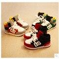2015Hot-selling спортивная обувь кроссовки ребенок мужского пола весна женский детская обувь педали snearkers