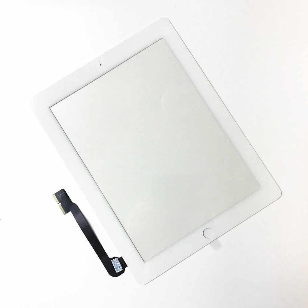 A1416 A1430 A1403 A1458 A1459 A1460 TOUCH สำหรับ iPad 3 iPad 4 9.7 ''Touch Screen Digitizer SENSOR แผง Digitzer ใหม่