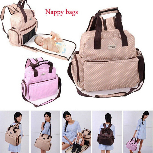 buy backpacks multifunctional new shoulder bag baby diaper n. Black Bedroom Furniture Sets. Home Design Ideas