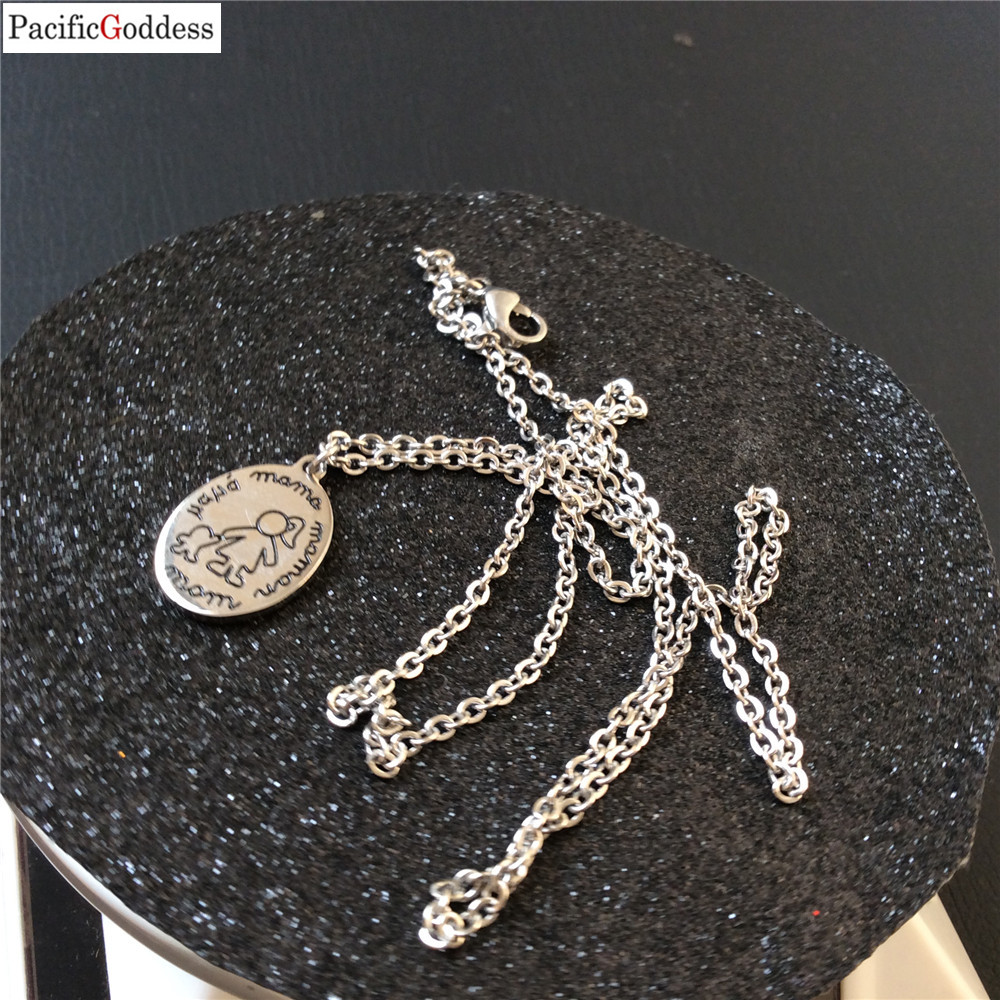 Pendant NECKLACE With Stainless Steel Chain small cute pendant as best gift