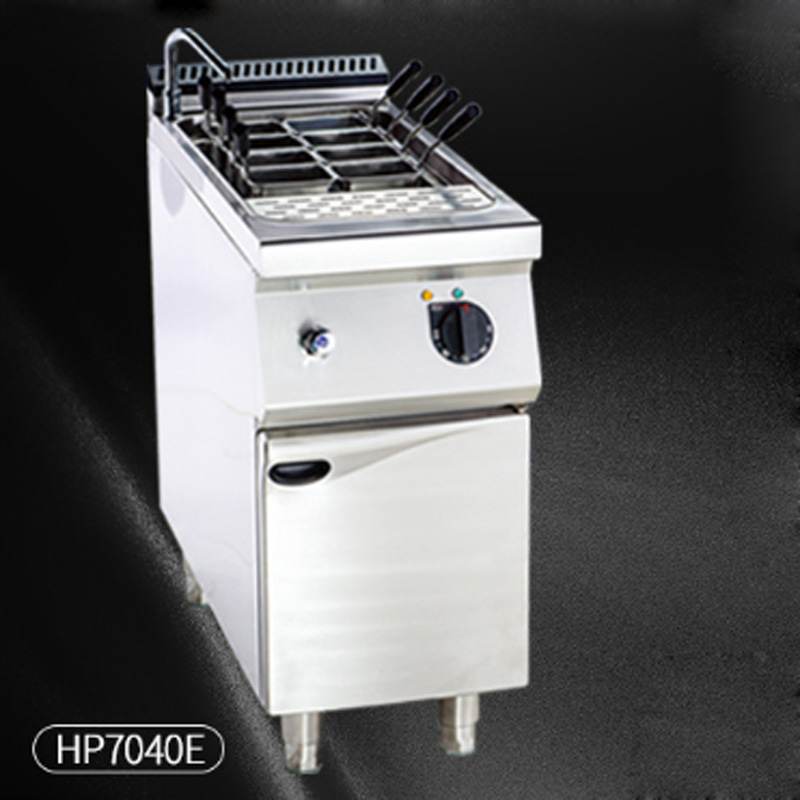 HP7040E Commercial vertical noodles cooker Electric Pasta machine Stainless steel noodles stove 28L Pasta equipment 380V 9KW 1PC