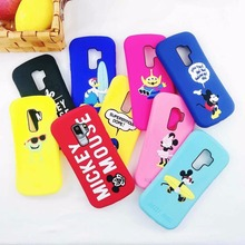 NEW 3D Cartoon sexy Minnie Mickey Mouse Soft silicon Case for samsung s9 plus soft Cases duck Animal Covers cases Capa
