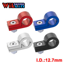 WILLIN-заготовка алюминиевая линия P зажимы для I.D. 12,7 мм 1/2 ''трубопровод WLJN02-05 золото/фиолетовый/красный/синий/серебристый/черный