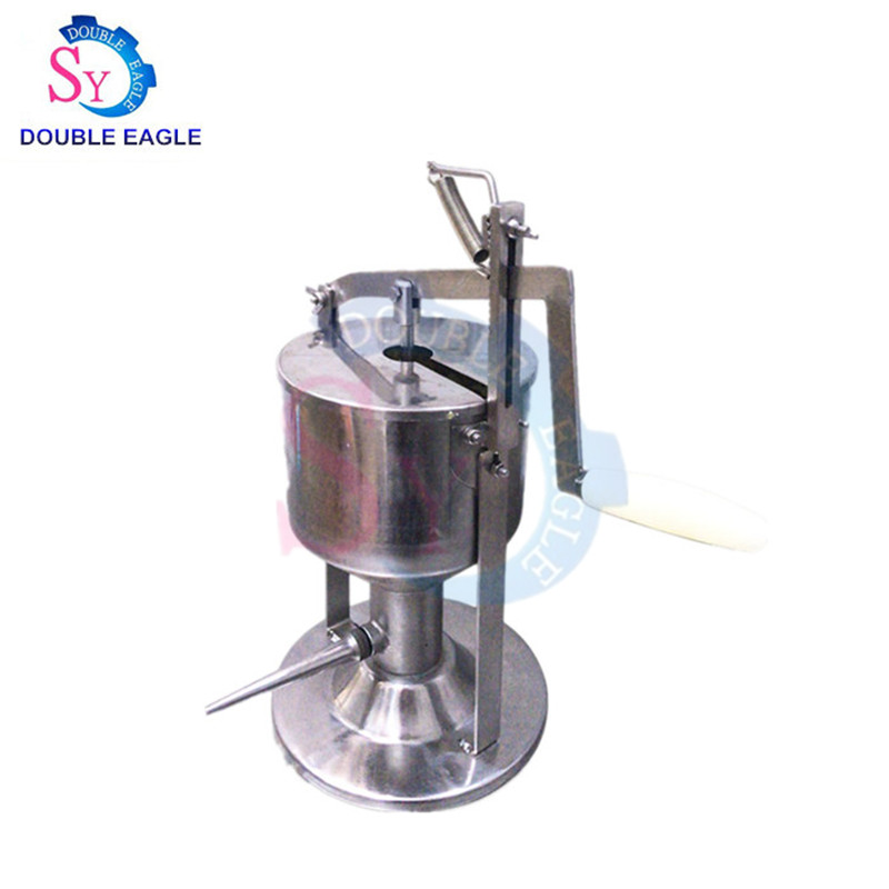 Commercial Stainless Steel Small Manual Cake/bread/cream/jam Filling Injection Machine For Bakery