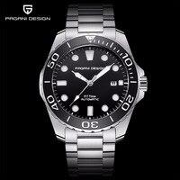 Pagani Mechanical Mens Watch Sport Black luxury military waterproof Watch Men Automatic steel Male wrist watch Relogio Masculino