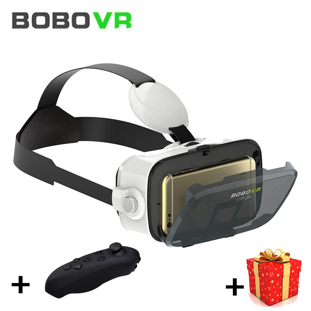 Bobo VR Bobovr Z4 Mini 3D 3 D Box Casque Virtual Reality Glasses Goggle Headset Helmet For Smartphone Len Google Cardboard Vrbox hot sale google cardboard vr case 5plus pk bobovr z4 vr box 2 0 vr virtual reality 3d glasses wireless bluetooth mouse gamepad