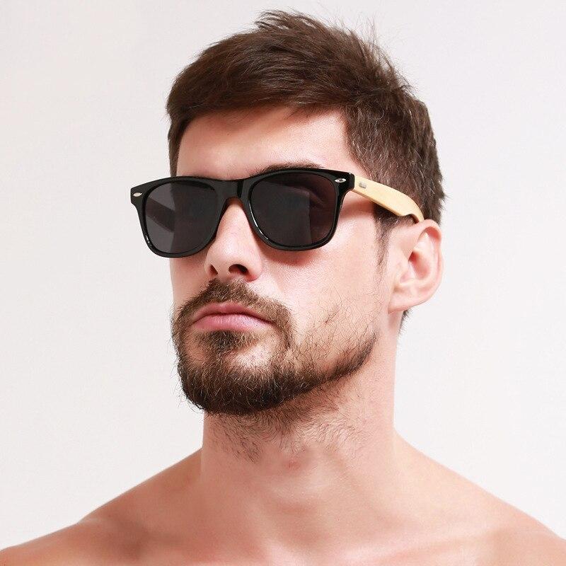Rétro bois lunettes de soleil femmes hommes bambou lunettes de soleil femmes marque Design classique lunettes or miroir lunettes de soleil nuances lunette oculo