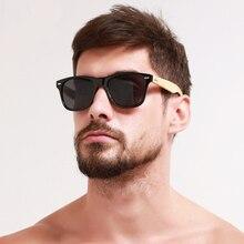 Retro Wood Sunglasses Women Mens Bamboo Sunglass