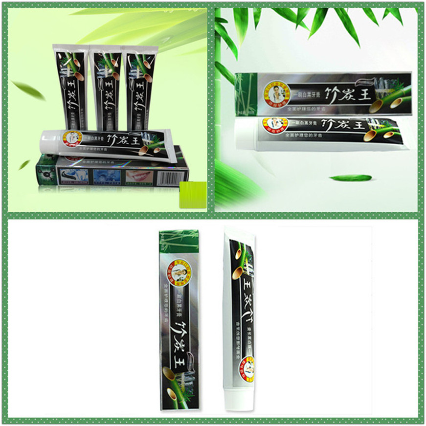 2017 A# 105g Health Care Bamboo Charcoal All-purpose Teeth Whitening The Black Toothpaste 1PCS 5