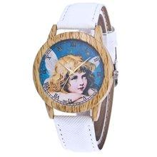 Las mujeres pulseras de reloj Reloje Mujer 2018 de moda de la flor de cuero analógico de cuarzo de moda reloj de pulsera reloj Relogio femenino