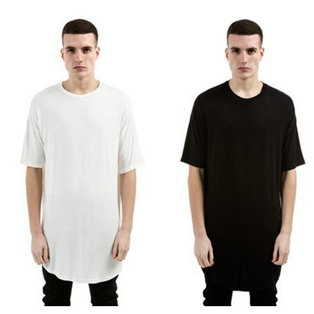basic longline t shirt