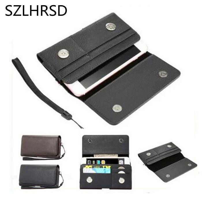 SZLHRSD Lichee Pattern Card Slots Holder Pouch Case for Huawei Nova 2i UMIDIGI S2 Lite AllCall Rio S Leagoo Z7 M-Horse Pure 2