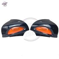 Темно синий мотоцикл заднего вида Зеркала янтарь поворотники Чехол для BMW r1100rt r1100rtp r1150rt