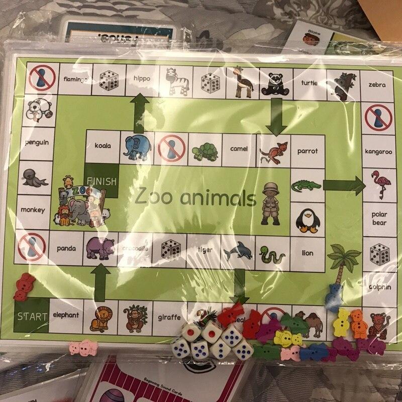 Kindergarten Lustige Brettspiele Early Learning Lernspielzeug ...