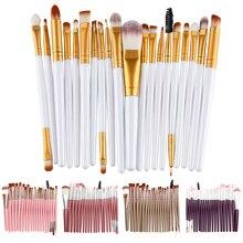 20Pcs Make up Brushes Professional Eye Shadow Brush Tools Kabuki kit Set Cosmetics Makeup Brushes Maquiagem