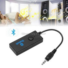 Mini Bluetooth V3.0 3.5mm Audio HiFi Music Receiver For MP3 MP4 TV Speakers  Drop Shipping
