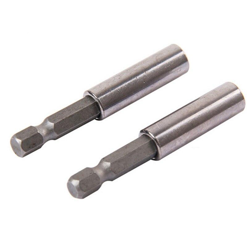 Screwdriver Extend Bars Drill Bits Magnetic Bit Holder Extension Drill Set D