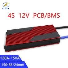 Daly завод горячей продажи 12 V LiFePO4 BMS 4S 120A/150A 14,8 V 18650 батареи BMS пакеты защиты доска баланс Интегральные схемы