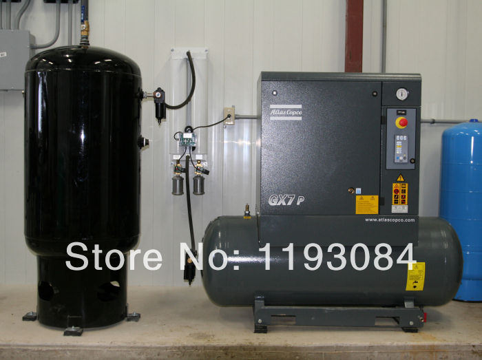 Ga22 Atlas Copco Screw Air Compressor Rotary Screw Air