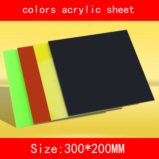 Colored Acrylic Sheet Color Plexiglass Plate DIY Toy Accessories ...