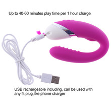 New USB Rechargeable 12 speeds Bending Twisted Vibrator G Spot Dildo Stimulator Sex Toys For Women Sex Products for Couples