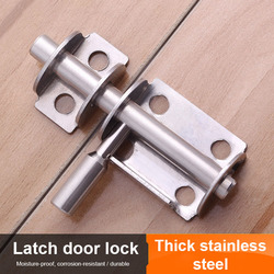 5 sztuk zagęszczony stal nierdzewna zatrzask bezpieczeństwa drewniane drzwi łazienka drewniany zatrzask do drzwi LB88