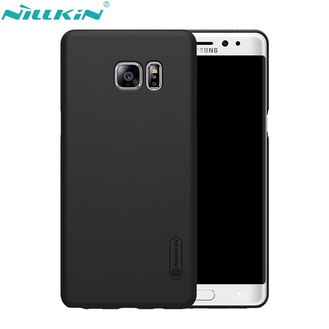 online retailer 8d67a 40ef9 US $7.19 20% OFF|NILLKIN Phone Case For Samsung Galaxy Note FE (Fan  Edition) Cover Hard PC Protect Shell Frosted Back Cover & HD Screen  Protector-in ...