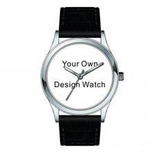 Custom made your logo watch Switzerland men luxury brand women relogio masculino free shipping