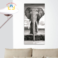 40 80cm Large Pictures By Number Canvas Painting For Living Room Coloring Drawing Paint By Number