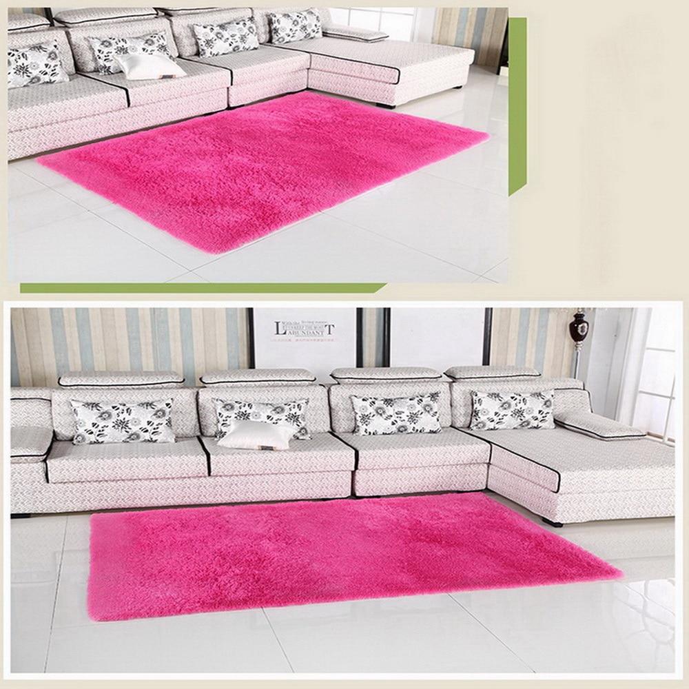 Wunderbar Wohnzimmer Grau Rosa Sammlung Von E Wohnzimmer/schlafzimmer Teppich Moderne Weiche Rutschfeste Matte