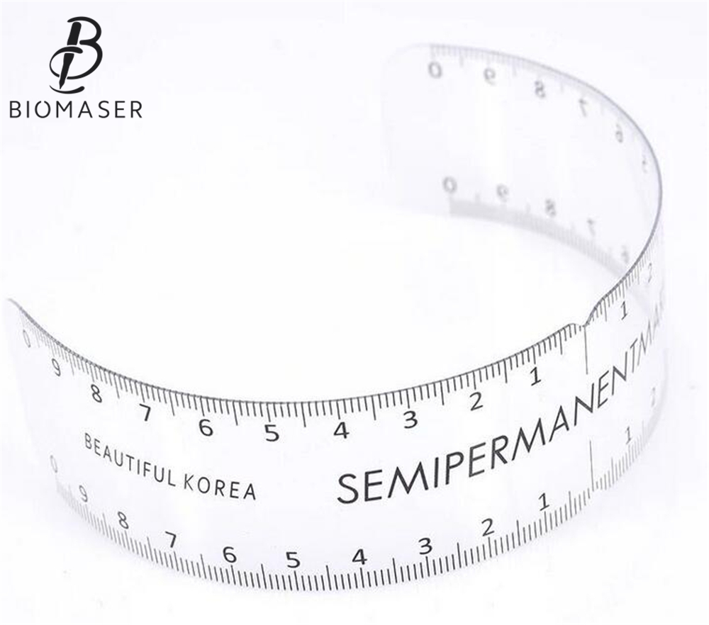 Biomaser Permanent Makeup Stencils Plastic Eyebrow-Ruler Tattoo Cosmetic Shaping Tool Sticker For Beginers Microblading SuppliesBiomaser Permanent Makeup Stencils Plastic Eyebrow-Ruler Tattoo Cosmetic Shaping Tool Sticker For Beginers Microblading Supplies