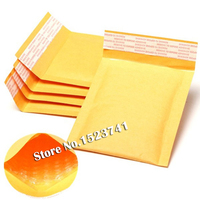 100pcs Lots Bubble Mailers Padded Envelopes Packaging Shipping Bags Kraft Bubble Mailing Envelope Bags Yellow