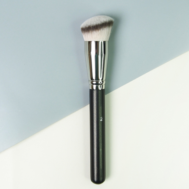 5ba00bb3147e US $6.56 27% OFF|Professional Sculpting Brush #170 Angled Rounded Bristle  Foundation Makeup Brush Blush Contour BB Cream Make up Brush-in Eye Shadow  ...
